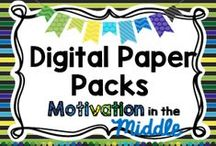 Digital Paper Packs