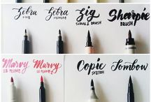 Cards + Calligraphy / Invitations | Calligraphy | Fonts | Wedding | Party