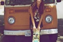 Born to skate / about mostly girl skaters and skate board designs and fashion.