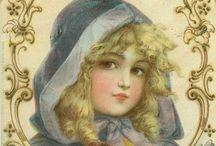 V I N T A G E   C A R D S / Vintage post cards