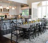 Dining Room   The Black Goose Design / Make gathering around the dining table beautiful and cozy!