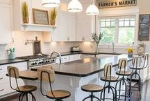 Kitchen   The Black Goose Design / If you have to cook, you might as well enjoy the scenery!