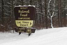 Silent Sports in the Northwoods / Vilas County, including Phelps, WI, has several hiking, biking, cross-country skiing and snowshoeing trail options throughout the area. Much of the northwoods is waiting to be discovered by you and your family along one of our nature trails. / by Phelps WI Chamber of Commerce
