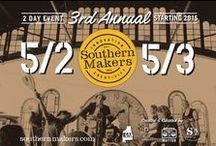 Southern Makers 2016 / Highlighting the talent and creativity of the 2016 Southern Makers featured artisans.  http://southernmakers.com