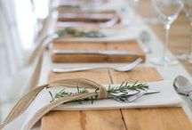 Inspiration // Table Settings
