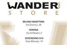 Wander Store / Vieni a scoprire i nostri prodotti anche online: wanderusa.com