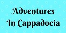 Travel: Adventures in Cappadocia / Cappadocia in Turkey is one of the most magical places I've ever visited. From the amazing hot air ballooning and the underground cities to the cave hotels and weird rock formations - it's somewhere not to be missed!