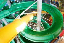 Аттракционы аквапарка /Water Theme Park