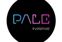 Pale typeface