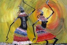 Arte in stile africa