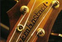 Famous Guitars & Bass Guitars