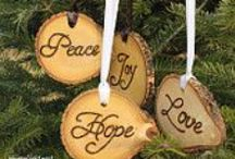 Country Christmas on Etsy / A collection of rustic/country Christmas items from Etsy / by Carolyn Nealen