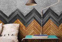 w a l l s / Art, prints, wallpaper... Creative ideas for wall decorating