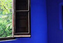 b l u e / Shades of blue that catch my eye