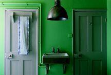 g r e e n / Shades of green that catch my eye