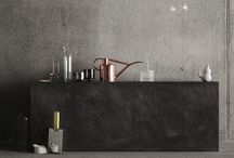c o n c r e t e / Concrete in design world and interiors