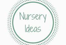 Nursery Ideas / Inspiration and ideas for nursery and baby's room #nurseryideas #nurserytips #nurserydecor