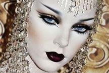 FACEOFF / immaginazione e creazione nel makeup più stravagante e visionario, l arte della trasformazione  e della lavorazione con le mani