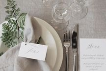 Table settings/ Party