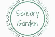 Sensory Garden / Sensory garden | Sensory play | Outdoor play | Preschool play | Garden with kids | Play time outside