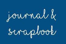 Scrapbook and Journal / Mit Hilfe von Scrapbook und Journal lässt sich das Leben einfangen und die schönen Momente auf Papier festhalten.
