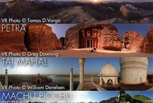 Seven Wonders of the World / Each in every continent