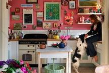 kitchens colourful and cosy