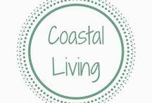 Coastal Living / Coastal Living inspiring life at home home #writing #art #coastaldecor #blues #livingbythesea #homedecor #interiordesign