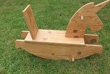 Moyens de locomotion en bois / Vélo, tricycle et draisienne entièrement en bois