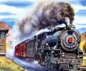 Railroad Paintings