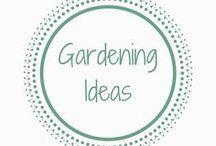 Gardening Ideas / Gardening ideas and inspiration Outdoors | Garden design | Garden inspiration | Small gardens | Outdoor living | Flowers and Plants | Garden Ideas