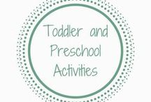 Toddler and Preschool Activities / Fun and education activities for toddlers and preschoolers. There are loads of ideas here to help your child learn, be creative and have fun through hands-on and sensory play.  #toddleractivities #educational #learning #sensory #preschool #parenting