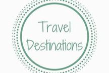 Travel Destinations / Travel inspiration | Holidays | Sighseeing | Exploring | Travel with kids | family holiday | family destinations