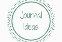 Journal Ideas / Journal ideas to help keep you organised and a clear mind #Journaling #Journals #Writing #bulletjournal #organisationtips