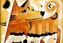 Canine art / Dogs, dogs, dogs koiria, koirarotuja