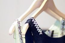 ~Hanging Pretty~ / ~Beautiful linens and fabrics on hangers.~ / by Ashley McLamb