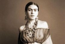 Frida Kahlo / Oh, how I admire this woman! / by Norma Arellano