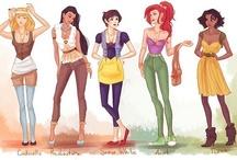 Disney Bound Styles / by Eleanor Horrocks
