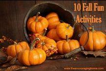 Fall / One of my favorite seasons!! Enjoy All Things Fall...