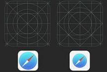 iOS apps' icons / by Liad Goldsmith