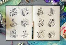 Sketches / by Liad Goldsmith