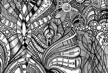 Zentangle Inspiration / by Vicki Louise Smith