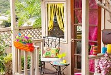 Outdoor living / by Julia Manfredi-Hobbs (Mommy Can Sew)