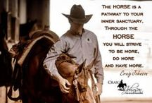 Horsemanship / The art of caring for a horse and sharing your life's journey together to become a better human.