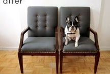 Chairs etc / Thinking of an upholstery project? Be inspired by these examples and ideas.