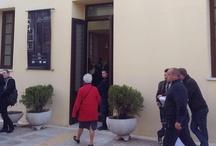 Display of architectural concepts Metaxourgio Greece / Εγκαίνια έκθεσης Σ.Α.Δ.Α.Σ. από τον δήμαρχο Αθηναίων την Παρασκευή 05/04/2013 στις 19:00μ.μ. - Έκθεση Συλλόγου Αρχιτεκτόνων Διπλωματούχων Ανωτάτων Σχολών Λεωνιδίου & Μιλλέρου στο Μεταξουργείο