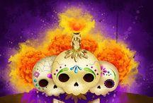 Día de muertos / DE TODO UN POCO PARA DISTRAERSE / by Diana Vazquez