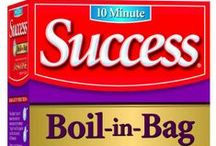 Success Rice Products / A comprehensive list of Success Rice products and flavors.