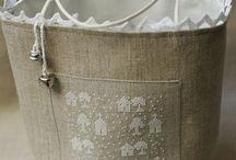 Bags / Borse di stoffa da cucire