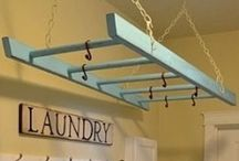 L A U N D R Y / Organize and beautify the laundry room!!!